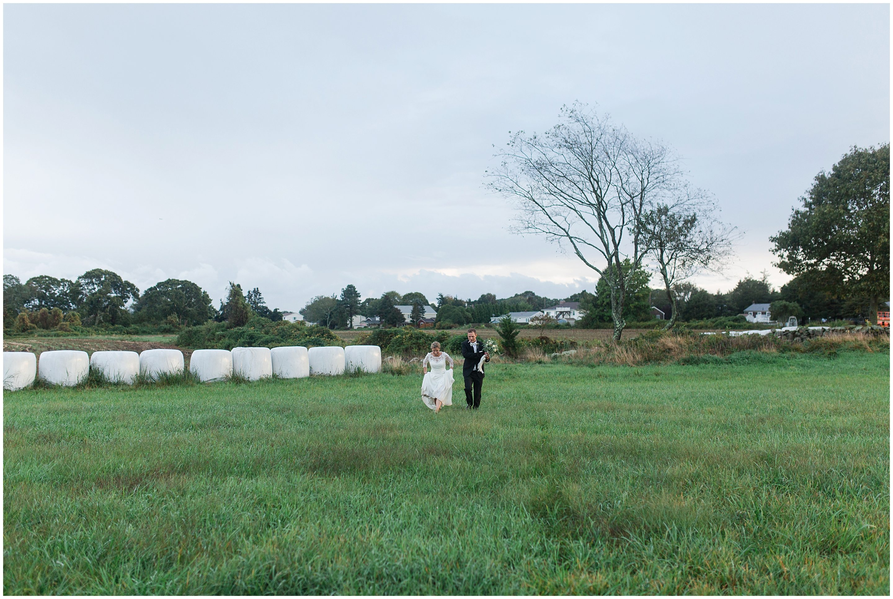 Winnapaug Farm Preserve Wedding Amma Rhea Photo