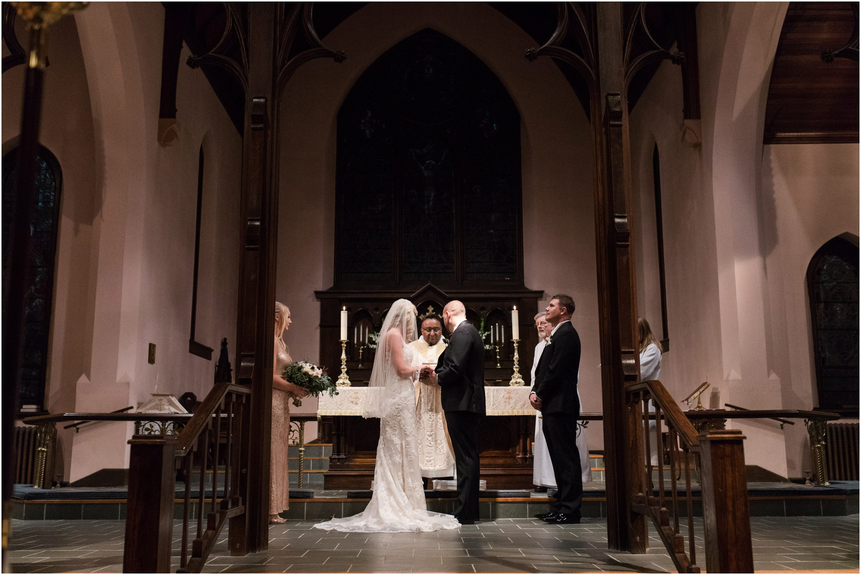 christ church wedding amma rhea photo